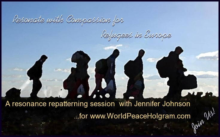 November 16th, 2015 Resonate with Compassion for Refugees in Europe by Jennifer Lucky Johnson